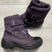 Термо ботиночки Ecco 28 размер стелька 18 см.