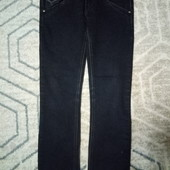 Темно- синие джинсы, размер 29, наш 44-46.