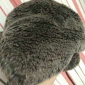Зимняя меховая шапка-ушанка