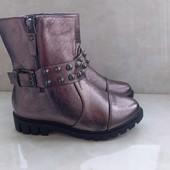Демисезонные ботинки для девочки 32-37р