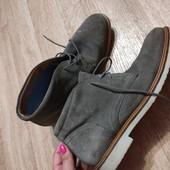 Замшевые ботинки Деми от Marks&spenser