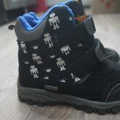 Демисезонные ботинки Willowtex (стелька 19,5см) Сост.отл!