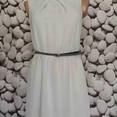 шифоновое платье в белую точку