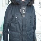 Зимняя удлиненная куртка m (44-46)
