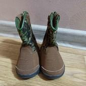 Демисезонные ботиночки, стелька 11,5см, состояние новых