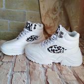 Женские высокие кроссовки, р 41 - 26,7 см. До самых морозов.