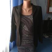 Платье мини+ трикотажный пиджачок, р.S