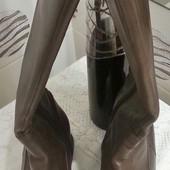 Сапожки кожаные Clarks евро-зима, размер 40, стелька 26. Читайте пож. описание!