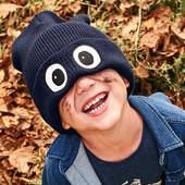☘ Крута в'язана шапка з м'якого поліакрилу Tchibo (Німеччина), розмір: універсальний