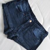 Брендовые джинсовые шорты divided размер евро 34