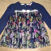 Блуза на девочку ,4-5лет замеры на фото