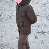 Курточка деми до евро-зимы 8-10 л