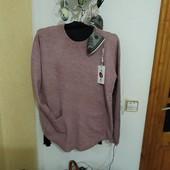 Ніжна кофтинка-пуловер бузкового кольору