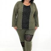 Ангоровый женский костюм 50- 52 размер