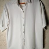 Большая Распродажа! Все лоты от 10 грн! Блуза белоснежная , большой размер