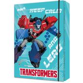 Папка для тетрадей на резинках Kite Transformers bumblebee Movie TF17-210, картон