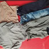 Лот одежды для мальчика 110-116 см