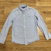 Рубашка с длинным рукавом на мальчика 7-9 лет