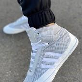 Хайтопы Adidas Кожа 29,5 см на #подкладке на 28,5 или 29 см