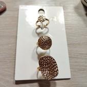 Германия!!! Стильные женские кольца, кольцо! 3 шт в лоте! 9,95€ по ценнику!