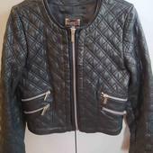 Кожаная курточка Mango
