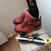 Замшевые ботиночки Jack Wolfskin 36 размер,замер на фото. удобные.легкие. очень классные