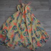 Красивое платье H&M 5-6лет(116) Сост.отл!