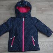 Мембранная термо куртка на флисе Topolino р86