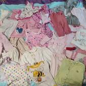 большой пакет вещей для девочки 3-6 месяцев