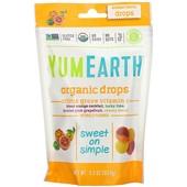 Органические леденцы с витамином C, цитрусовый вкус, США