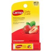 Бальзам лечебный для губ Carmex Клубника с spf 15, США