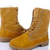Ботинки на меху 37 р