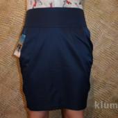 Красивая юбочка с бантом, качество отличное р. 38, можно в школу)