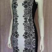 прямое котоновое платье