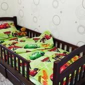 Детский полуторный комплект постельного белья Маквин бязь голд | Дитяча постільна білизна |