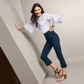 ☘ Жіночі еластичні штани довжиною 7/8 Tchibo (Німеччина), р. наш: 50-52 (44/46 євро)