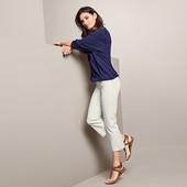 ☘ Стрейчові штани для створення елегантного образу, Tchibo (Німеччина), рр. наші: 46-48 (40/42 євро)