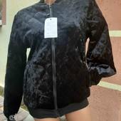Куртка мраморный бархат 42-44