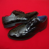 Туфли броги Sally натур кожа оригинал 37 разм