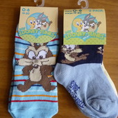 3 пары! Носочки Disney (Италия), размер 19-20 (0-6 мес.)