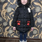 Крутая Куртка для девочки,кошечка,3 сезона+подарок ребенку!)