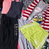 Пакет одежды для девочки 12-13лет, одним лотом 7ед