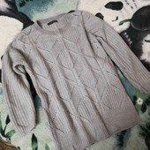 Тёплый свитерок с узором. Мерки в описании