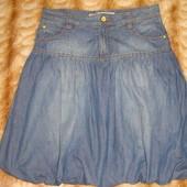 Джинсовая юбочка, размер 46, смотрите замеры
