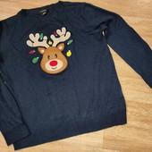 Тонкий свитерок в НГ стилe Atmosphere M