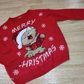 Новогодний свитерок с котенком
