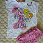 Пижама looney tunes от OVS kids Италия, размер 110-116, 5-6 летl
