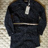 Платье вельвет OVS kids Италия, размер 116 см, 5-6 лет.