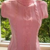 Безрукавка вязанная, жилетка / размер 42-46