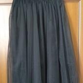 Модная нарядная юбка фатин , макси